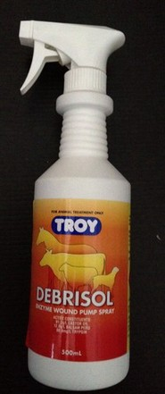 Troy Debrisol wound pump spray