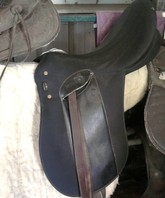 Saddle, Bag and Blanket Package